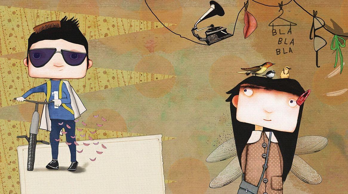 Ilustración del libro de Raquel Díaz Reguera