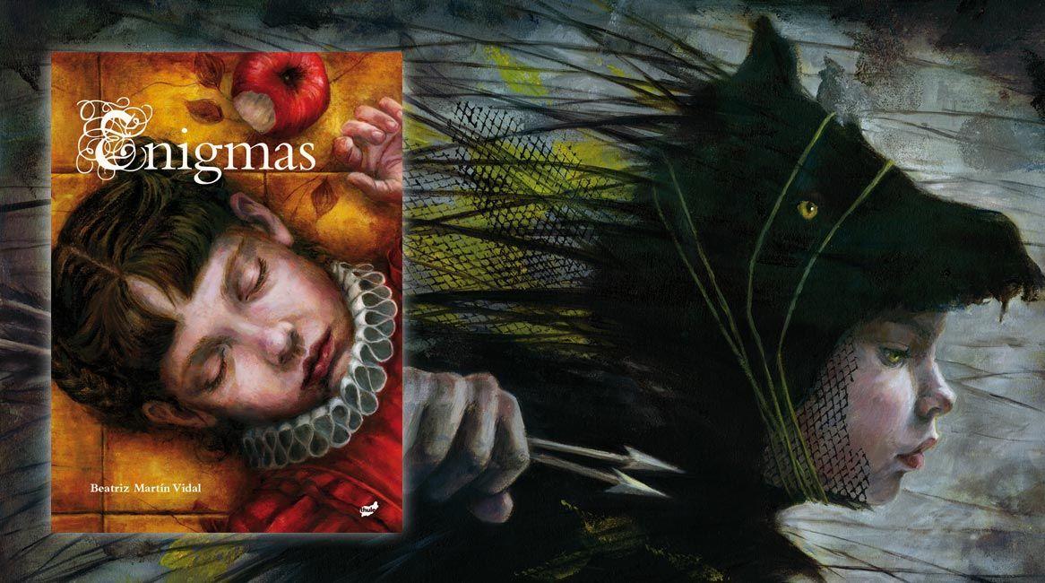 Enigmas, libro ilustrado de Beatriz Martín Vidal.