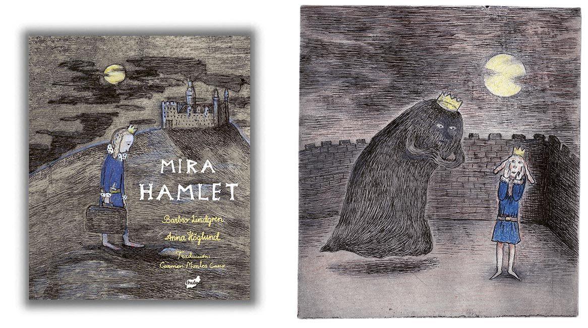 Mira Hamlet de Barbrö Lindgren y Anna Höglund