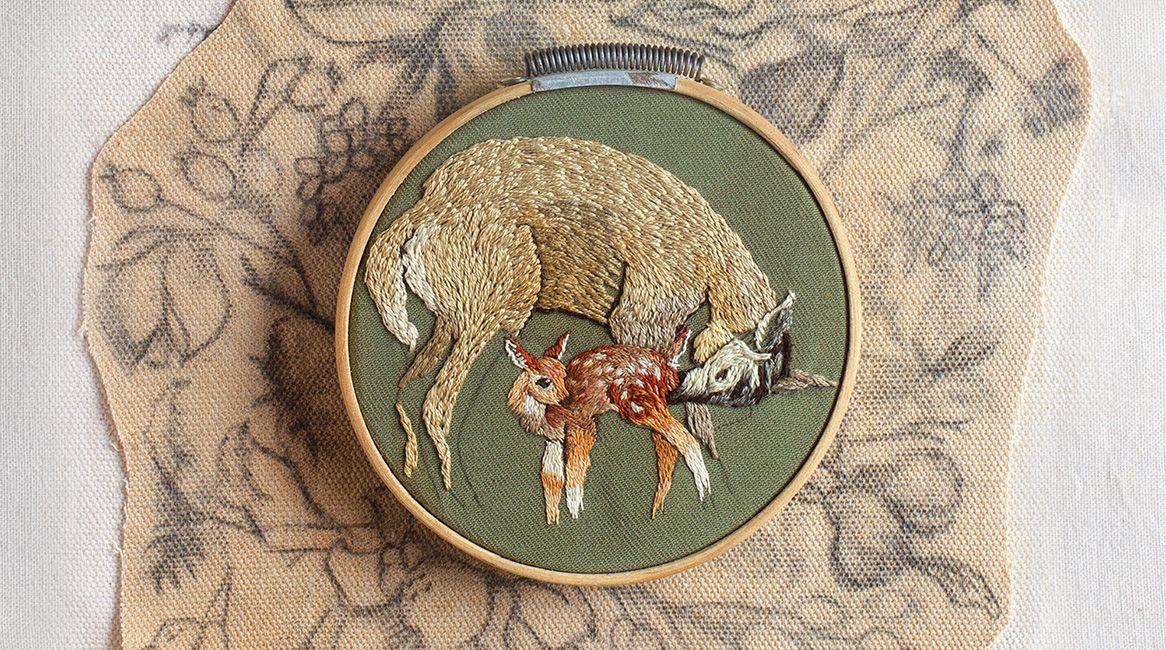 Ilustración de la novela Bambi