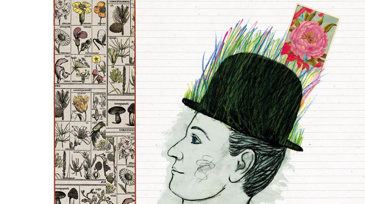 Ilustración del libro Recetas de lluvia y azúcar.