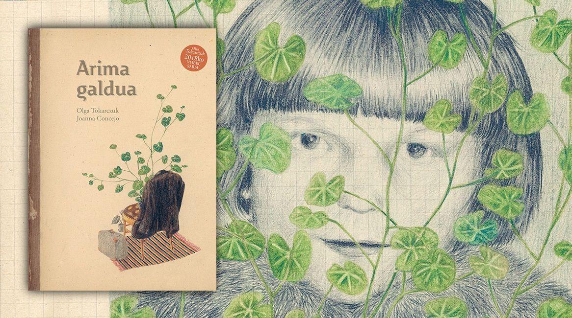 Arima galdua, liburu ilustratua Olga Tokarczuk eta Joanna Concejo