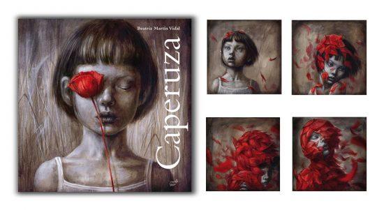 Álbum ilustrado Caperuza, un libro de Beatriz Martín Vidal