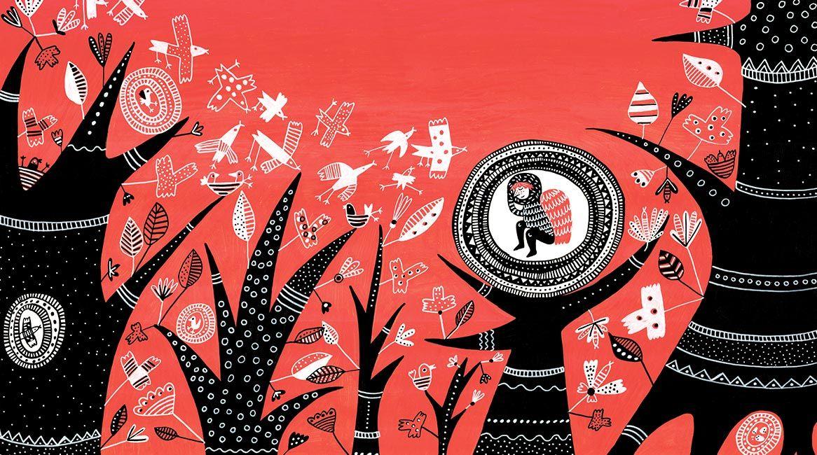 Imagen del libro infantil Al sur