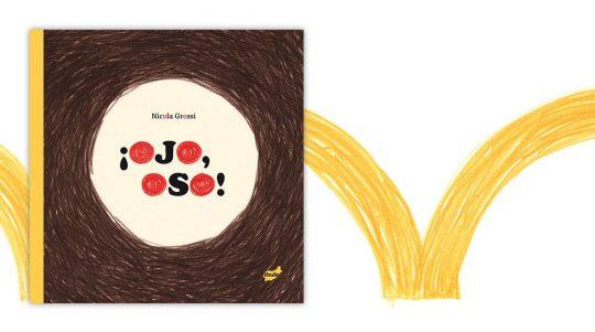 Portada del cuento ¡Ojo, Oso! de Nicola Grossi