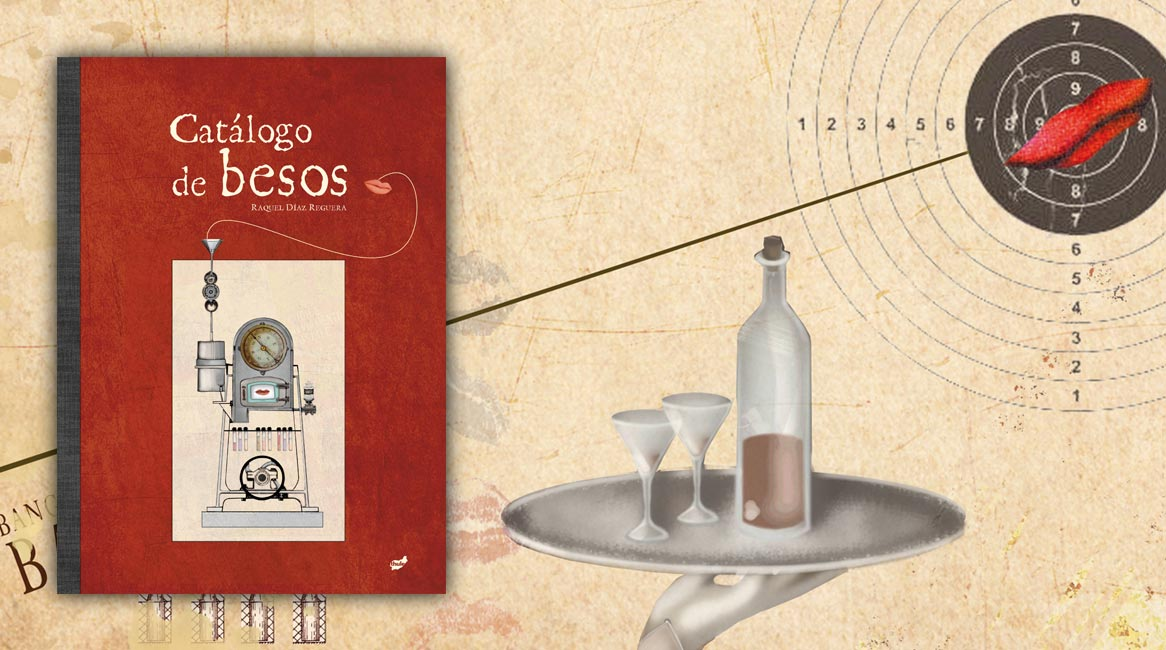Catálogo de besos, libro ilustrado de Raquel Díaz Reguera.