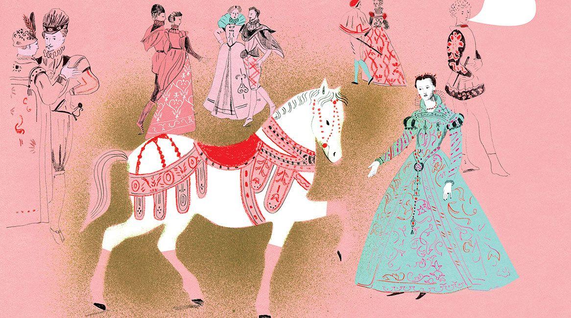 Ilustración del libro Historia de la ropa interior.
