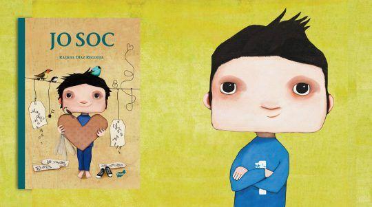 Jo soc, llibre il·lustrat de Raquel Díaz Reguera