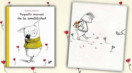 Pequeño manual de la amabilidad, libro ilustrado de Francesca Pirrone.