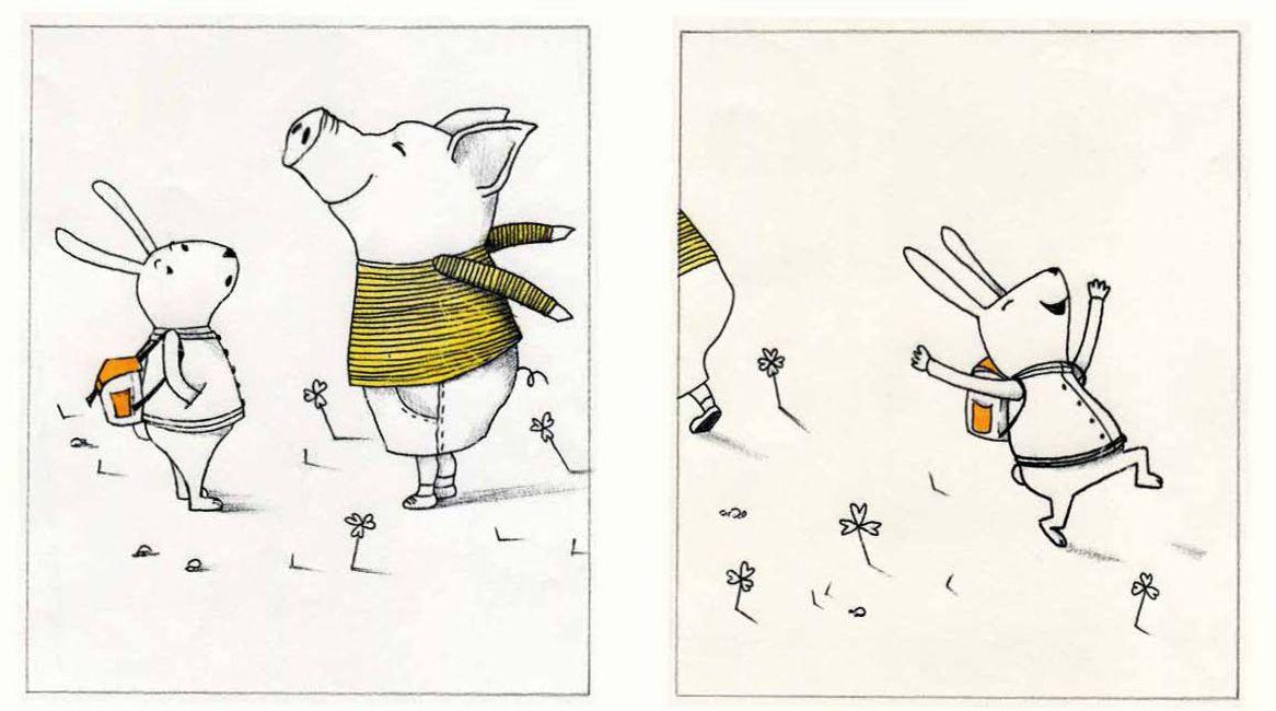 Ilustración del libro de Francesca Pirrone.