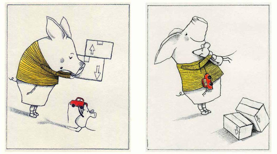 Interior del libro ilustrado Pequeño manual de la amabilidad.