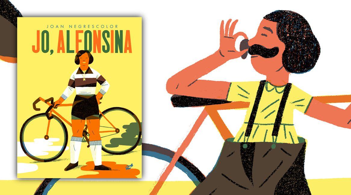 Jo Alfonsina, llibre il·lustrat de Joan Negrescolor