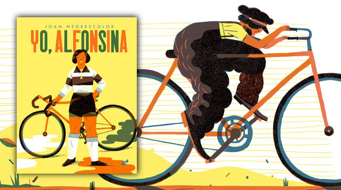 Yo Alfonsina, libro ilustrado de Joan Negrescolor