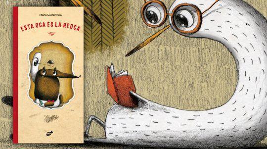 Esta oca es la reoca, libro ilustrado de Marta Guśniowska y Robert Romanowicz.
