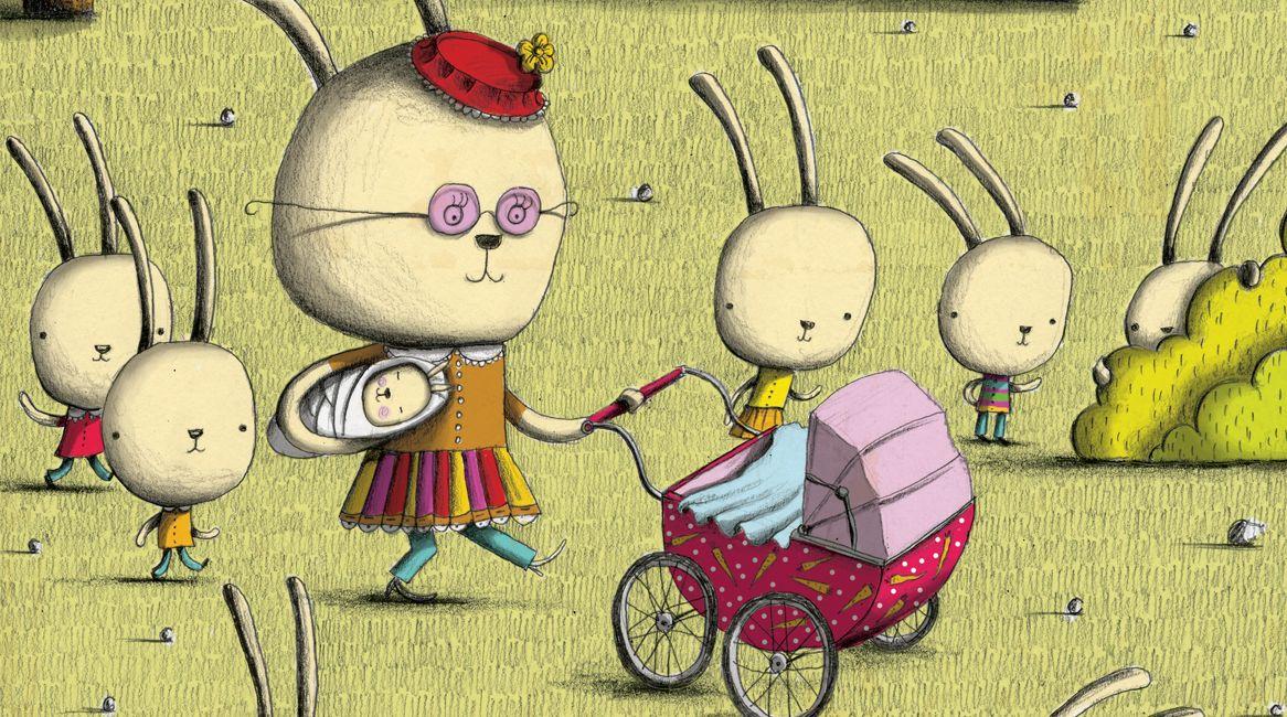 Ilustración de Robert Romanowicz para el libro Esta oca es la reoca.