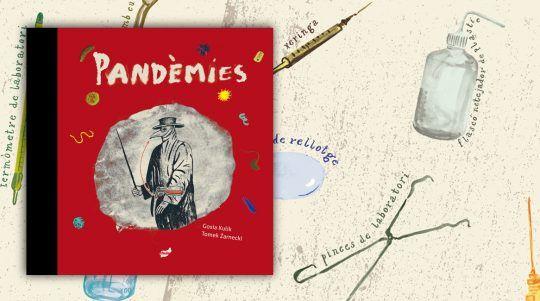Pandèmies, llibre il·lustrat de Tomek Zarnecki i Gosia Kulik