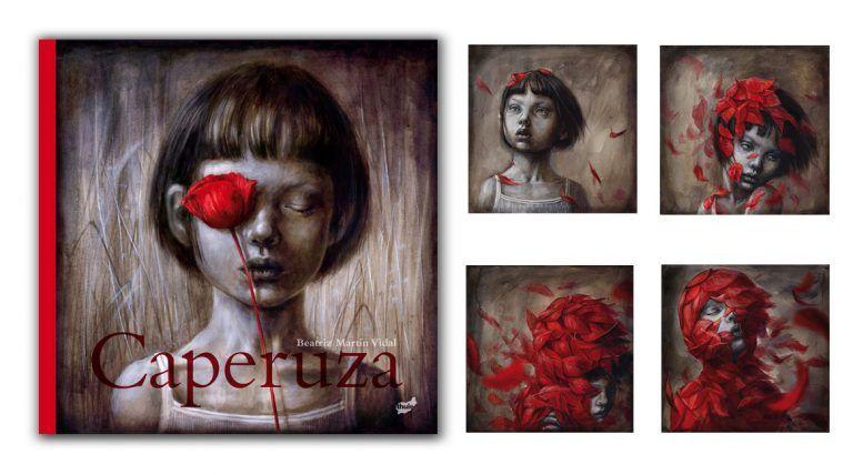 Libro ilustrado Caperuza, un libro de Beatriz Martín Vidal