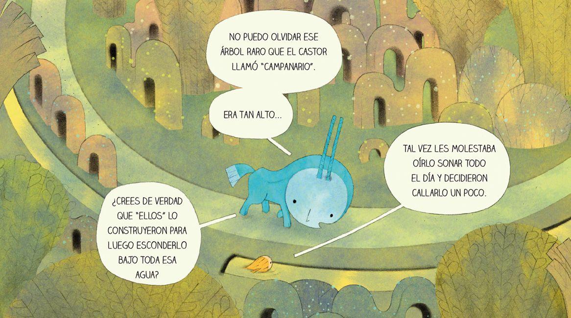 Interior del libro Lucero