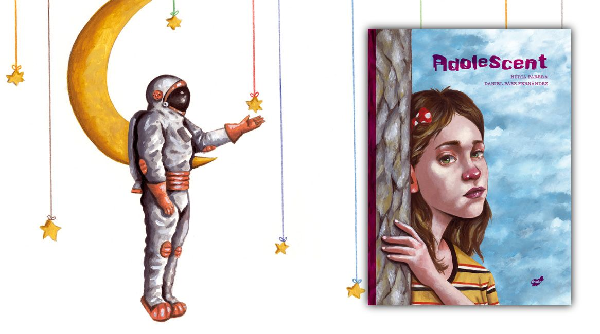 Adolescent, llibre il·lustrat de Núria Parera i Daniel Páez Fernández.