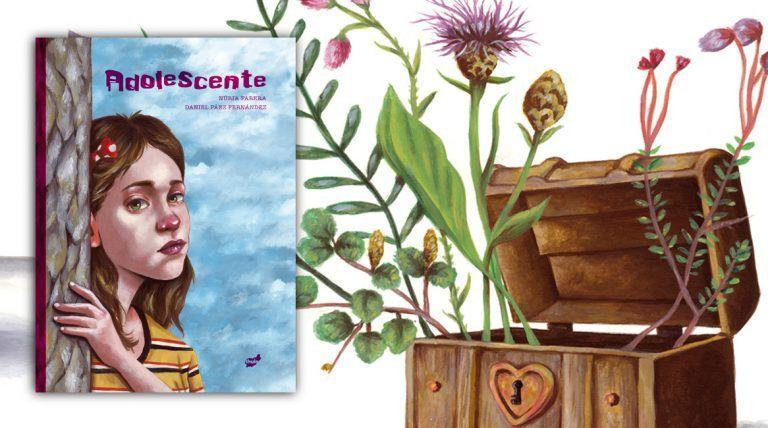 Adolescente, libro ilustrado de Núria Parera y Daniel Páez Fernández