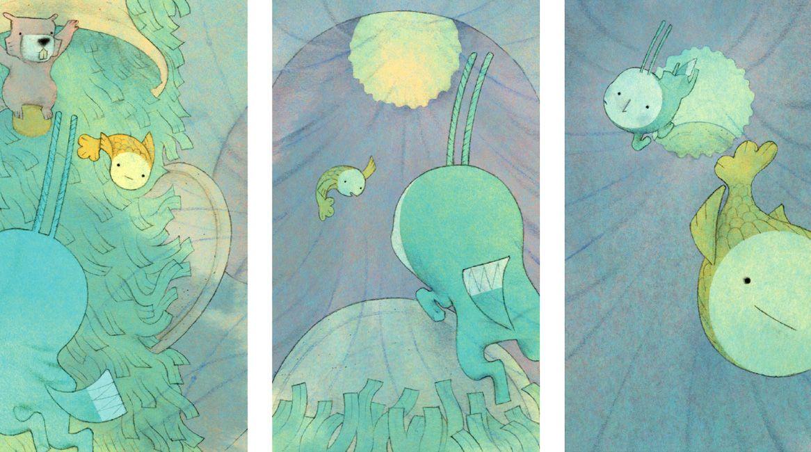 Ilustraciones del libro Lucero, de Marcho Paschetta