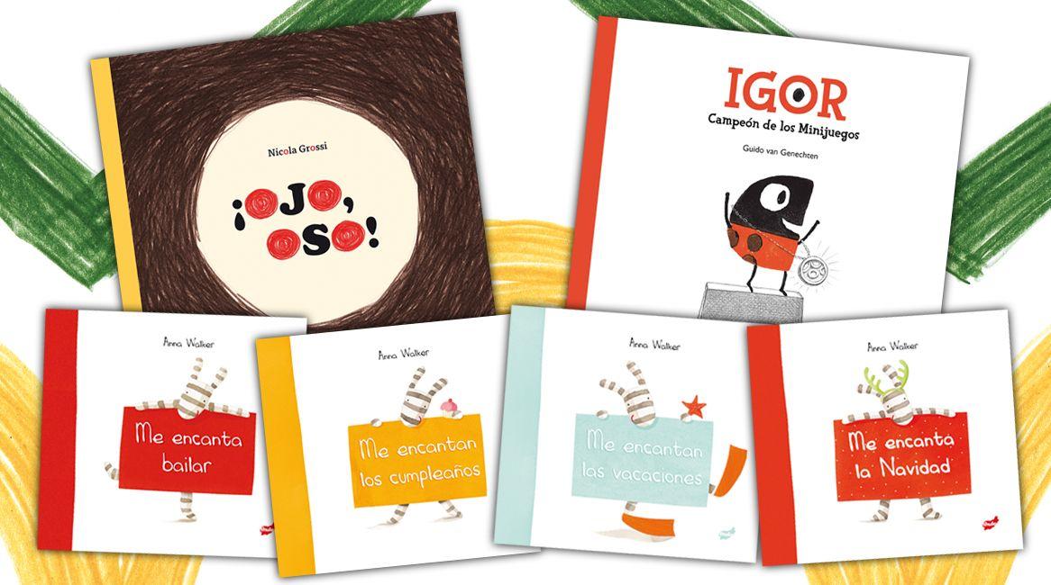 Colección infantil de álbumes ilustrados para niños.