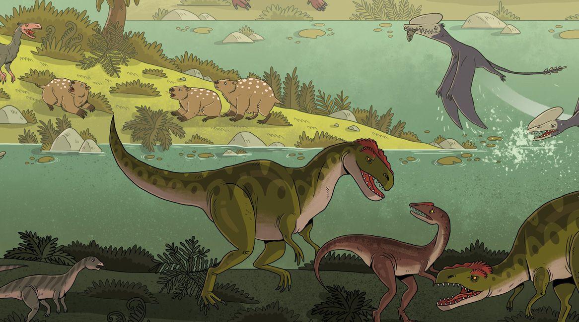 Libro ilustrado de Katarzyna Gladysz, Joanna Wajs y Pawel Laczek.