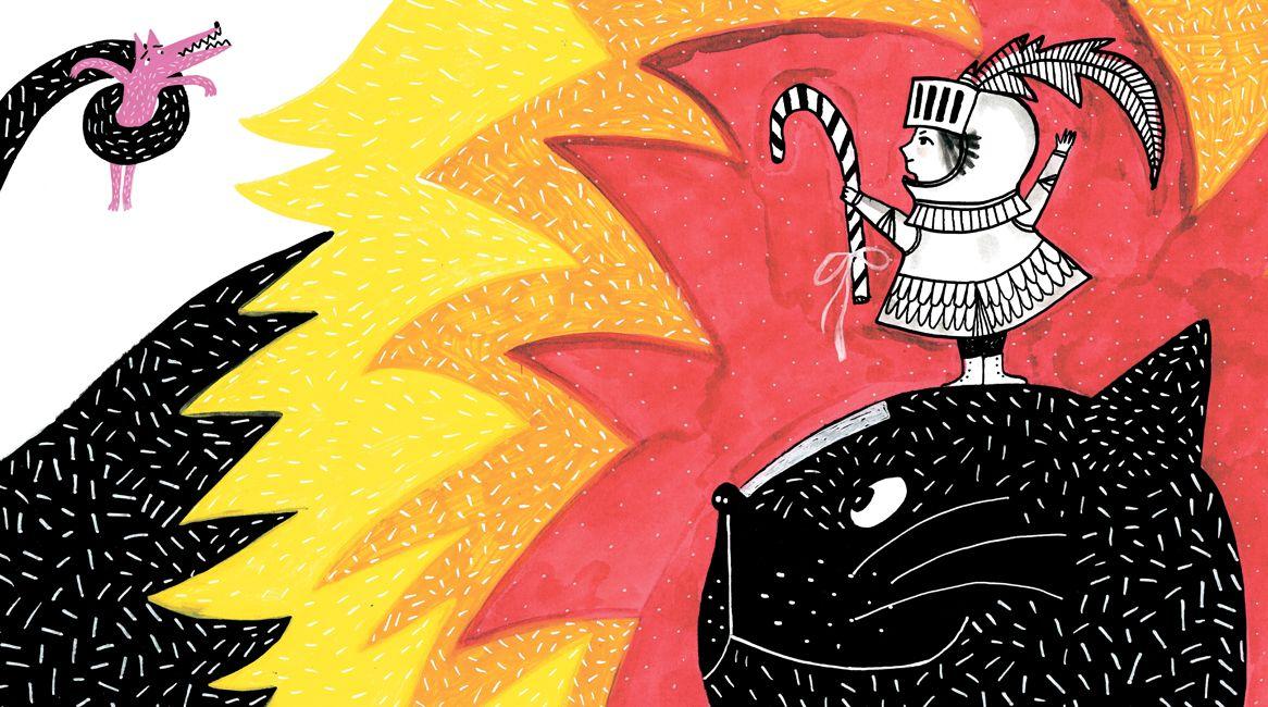 Ilustración del libro Entre Bastidores de Sofía Venzel.