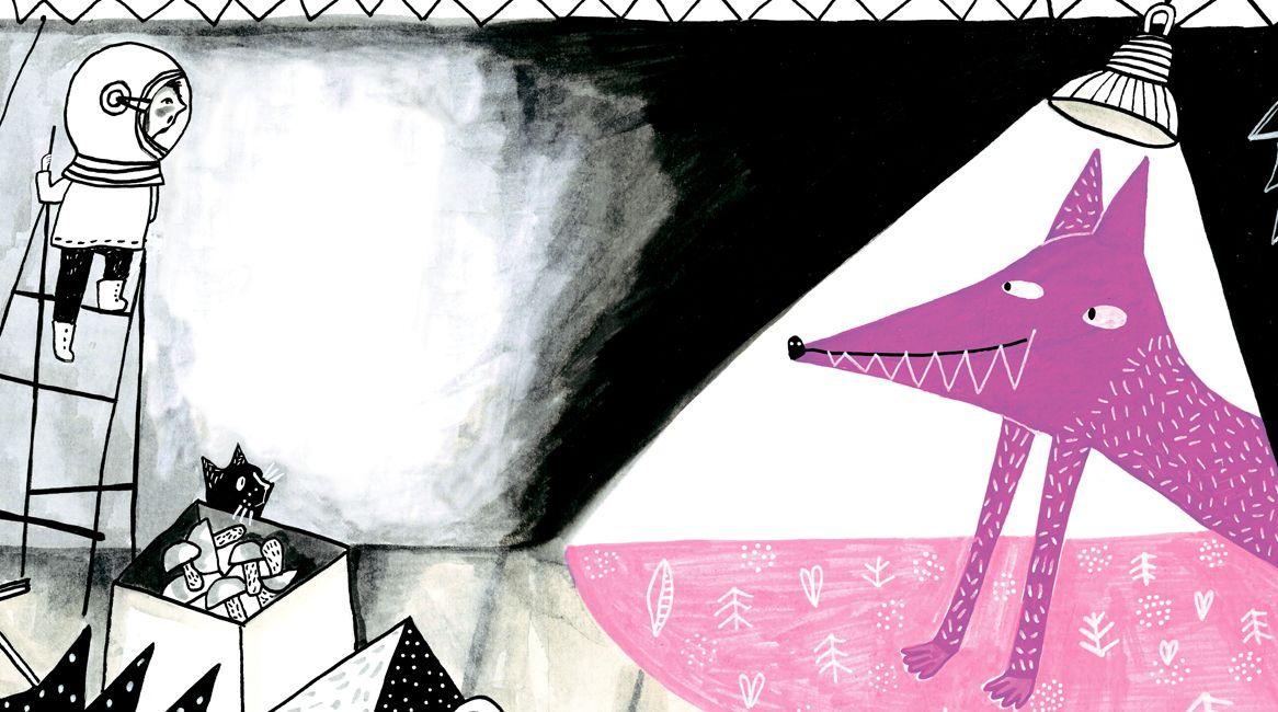 Ilustración interior del libro de Sofía Venzel.
