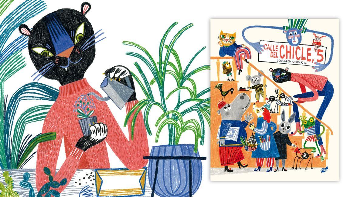 Álbum ilustrado Calle del Chicle, 5