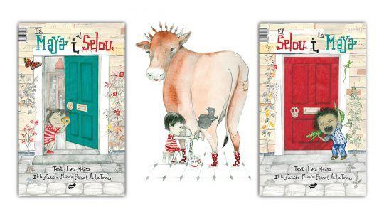 La Maya i el Selou. El Selou i la Maya llibre il·lustrat d´ L.Meana y María Pascual de la Torre