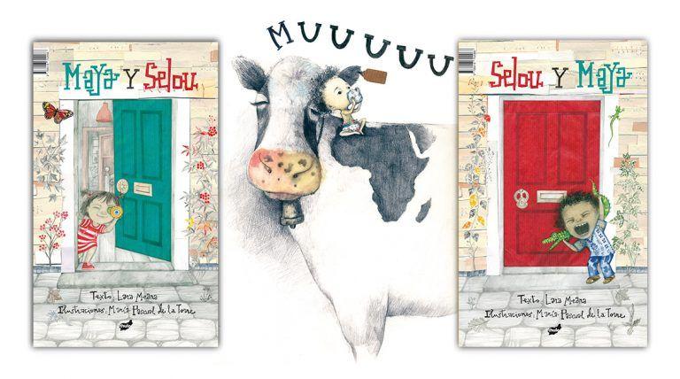 Maya y Selou. Selou y Maya un libro ilustrado por L. Meana y M. Pascual de la Torre