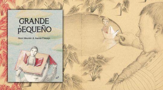 Grande y pequeño un libro ilustrado por H. Meunier y J. Concejo